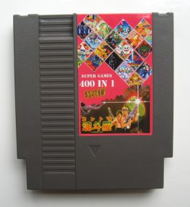 400 in 1 NES cart