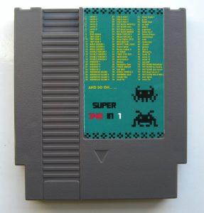 340 in 1 NES cartridge