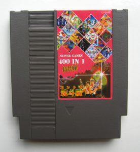 400 in 1 NES cart