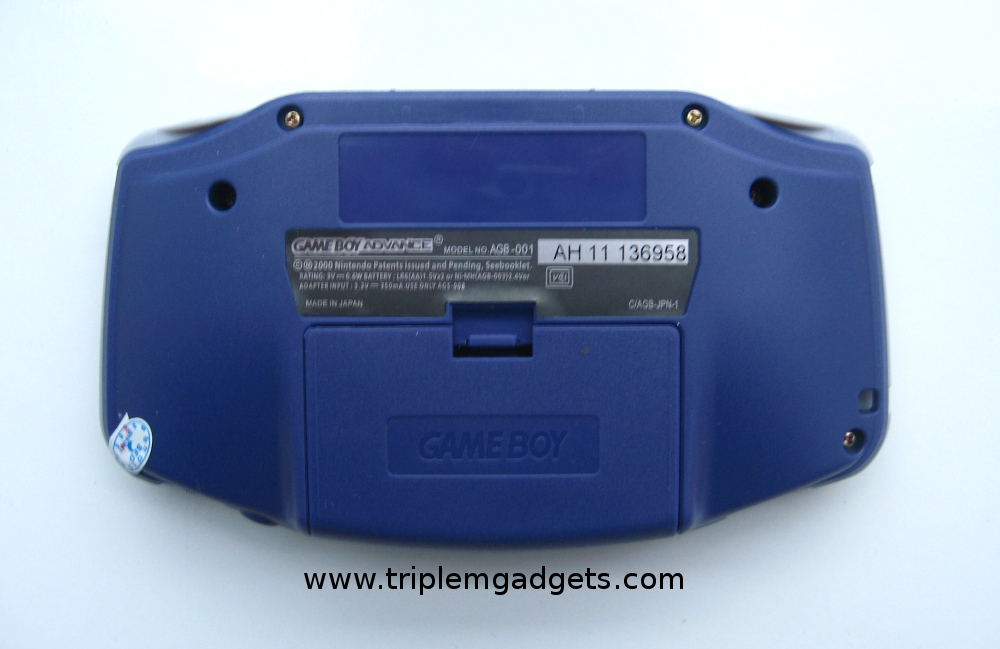 Nintendo Game Boy Advance GBA Purple