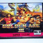 112 in 1 Sega Mega Drive Game Cartridge