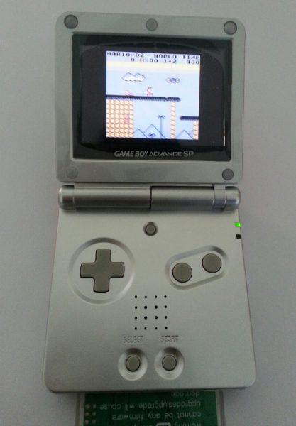 GBA backlight