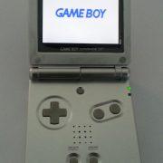 Backlit Game Boy Advance SP