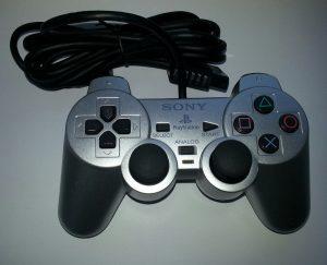 Silver PS2 Controller
