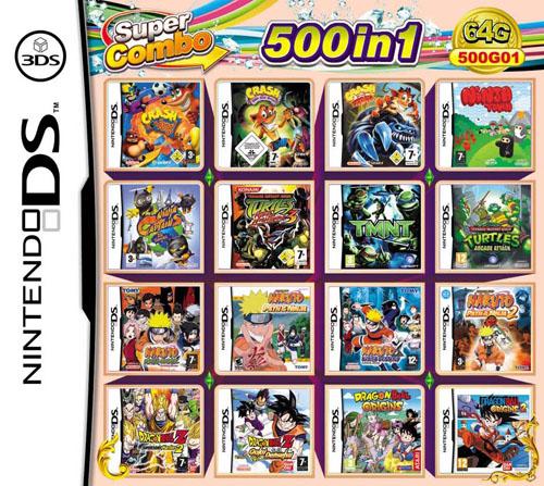 Nintendo DS 208 in 1
