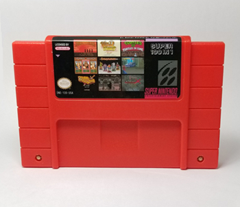Super NES multi cartridge 100 in1