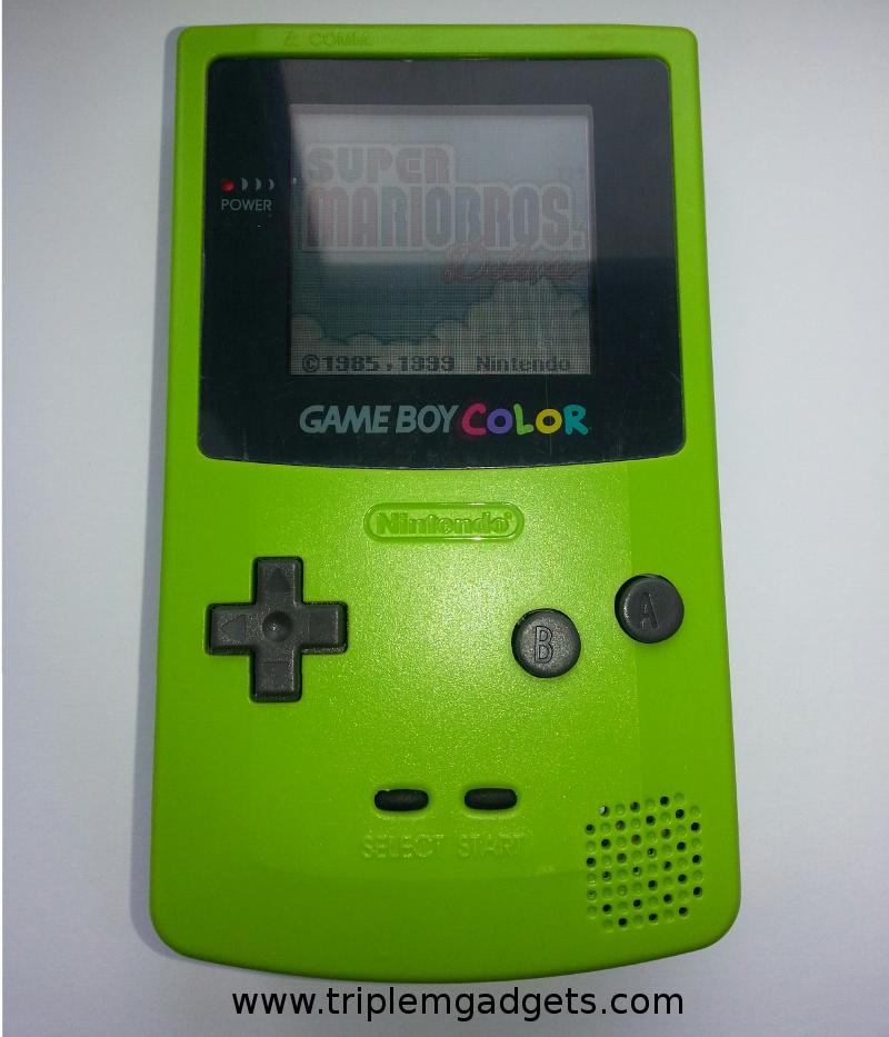 Green Gameboy Color